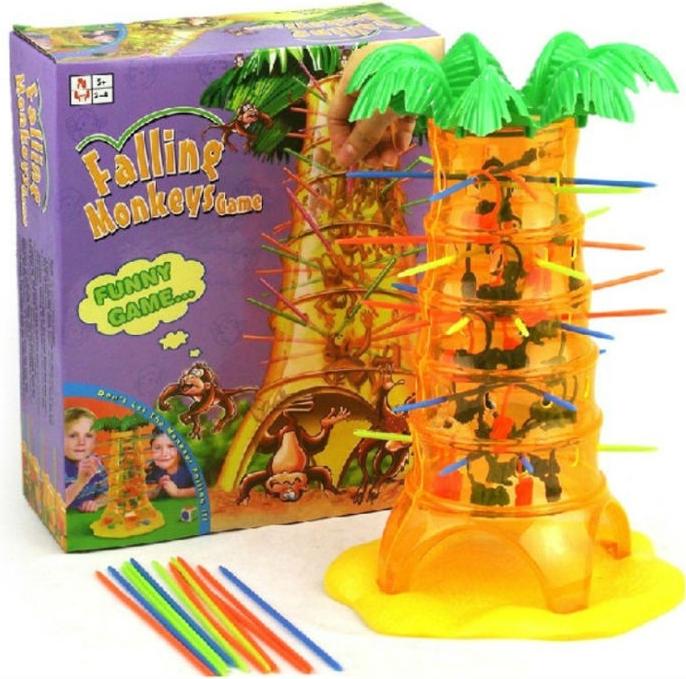 Stolní hry pro děti Padající opičky