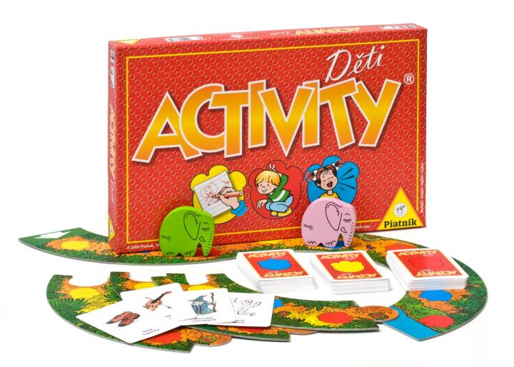 Activity Děti Top stolní hry pro děti