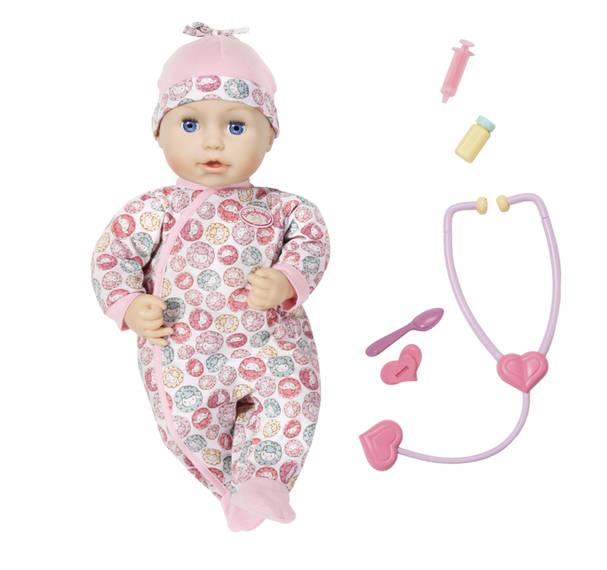 Nemocná Milly Panenka Baby Annabell.