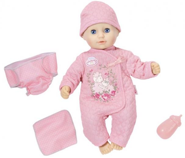 Holčička panenka Baby Annabell Baby fun