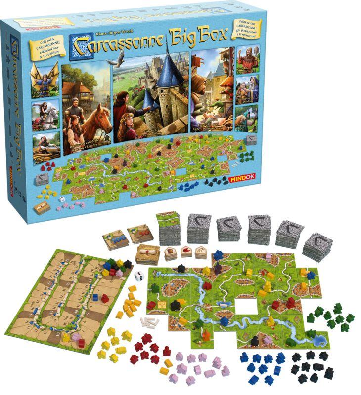 Carcassonne stolní hry Big Box