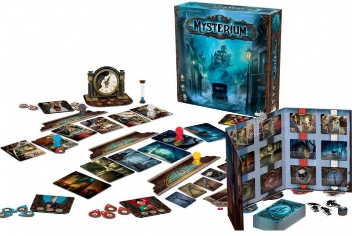 Stolní hry pro starší děti Stolová hra Blackfire Mysterium