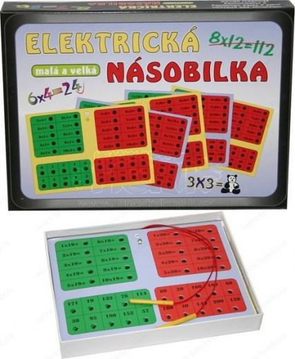 Matematické stolní hry Elektrická násobilka