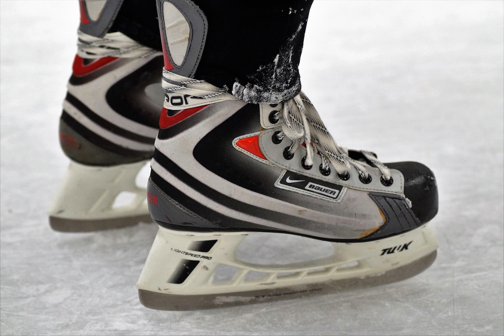 Hokejové dětské brusle na led