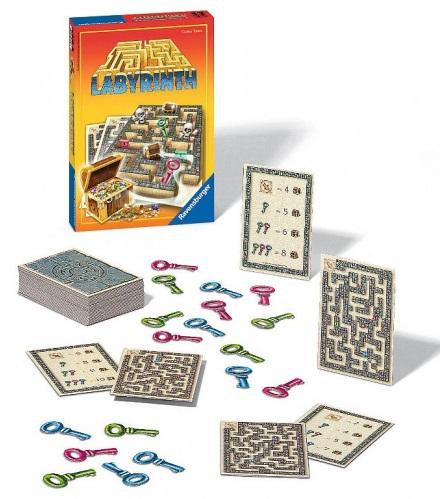 Top deskové hry Labyrint honba za pokladem