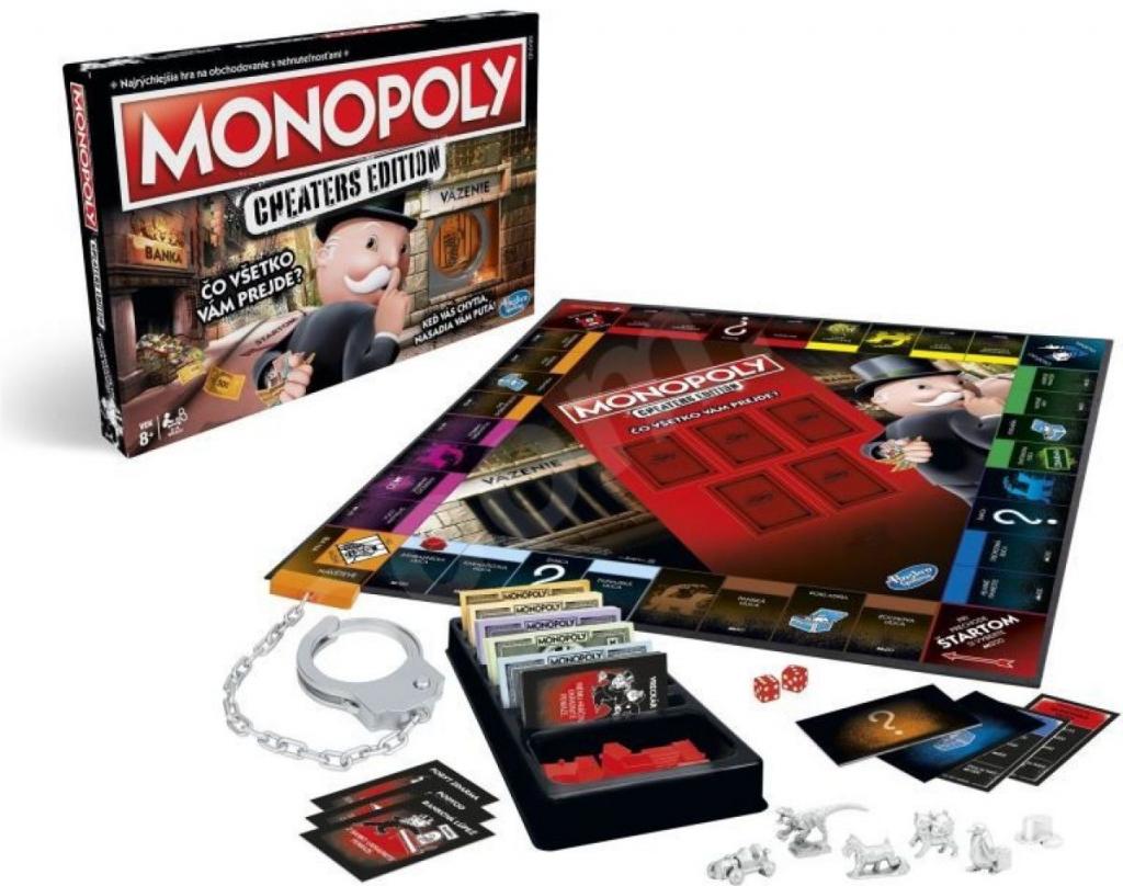Oblíbené stolní hry Stolová hra Monopoly Cheaters