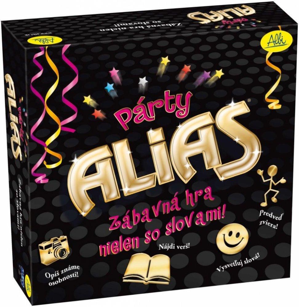 Stolní hry se slovy Párty Alias