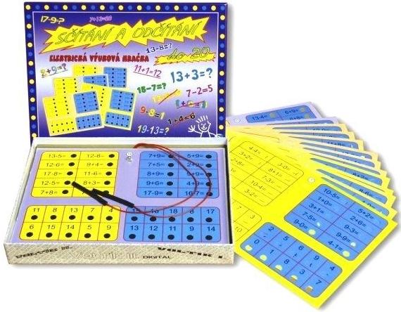 Svoboda Sčítání a odčítáni stolní hry pro děti