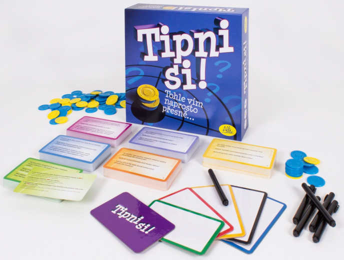 Dětské stolní hry Tipni si