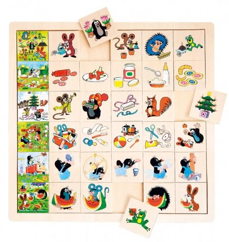 Top stolní hry pro děti Krtek