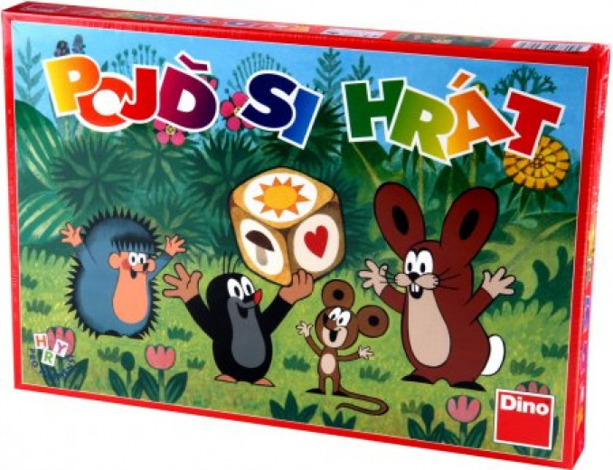 Pojď si hrát Krteček dětské stolní hry