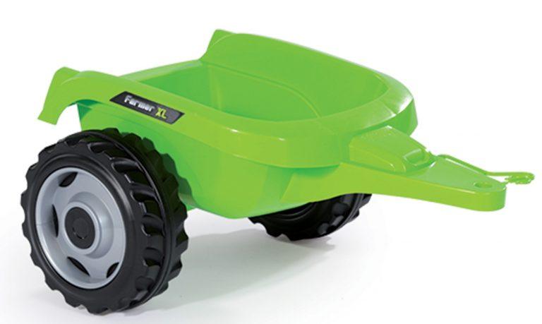 Smoby dětský traktor Farmer XL odnímatelní vlečka