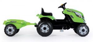 Smoby dětský traktor Farmer XL s vlečkou zelený