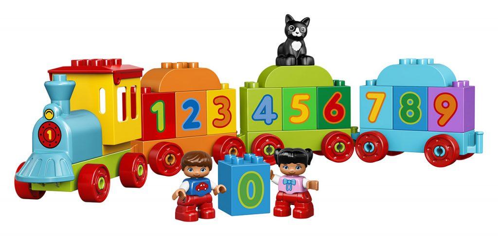 Kostky Lego Duplo Vláček s čísly