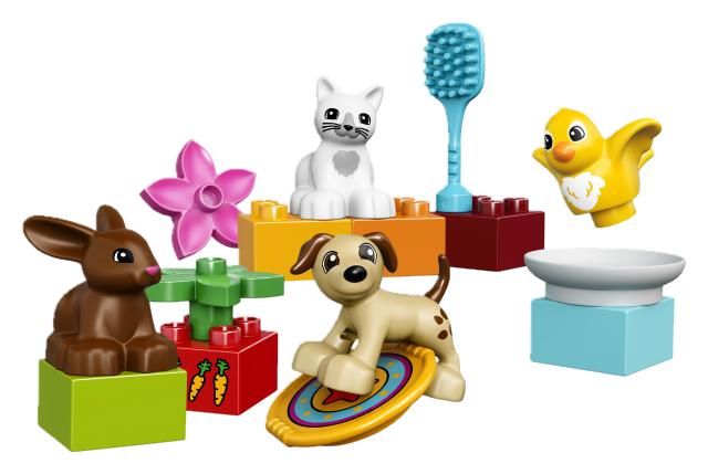 Zvířata kostky Lego Duplo