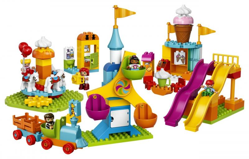 Lunapark kostky Lego Duplo