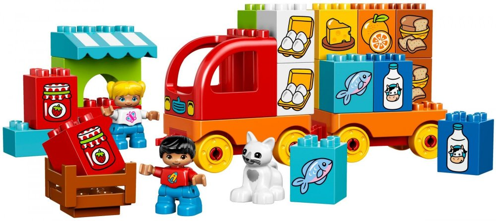 Tématické kostky Lego Duplo