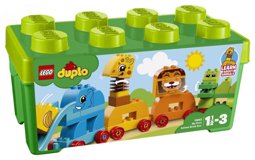 Kostky Lego Duplo v boxu