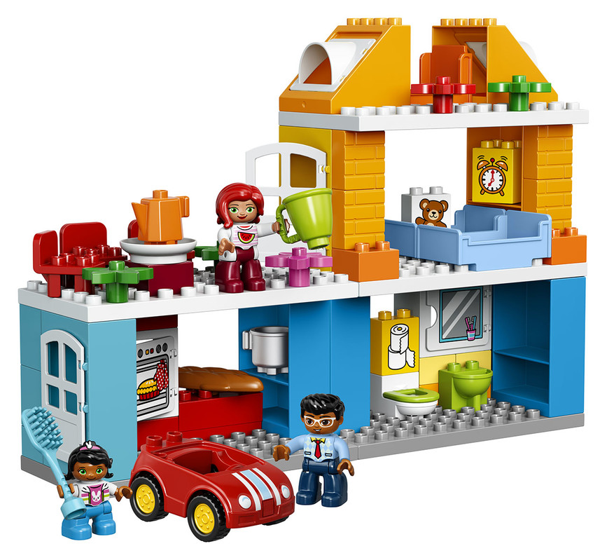 Kostky Lego Duplo s panáčky