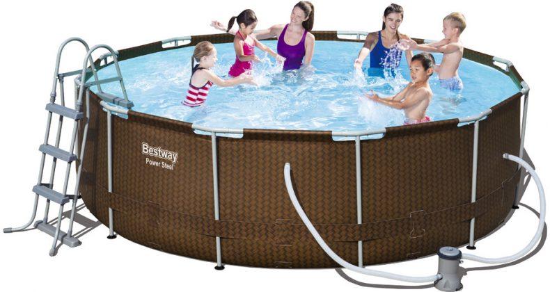 Značka Bestway veký rodinný bazén