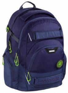 Tříkomorový školní batoh pro žáky