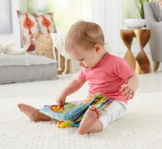 Knížky pro nejmenší hračky pro děti do jednoho roku