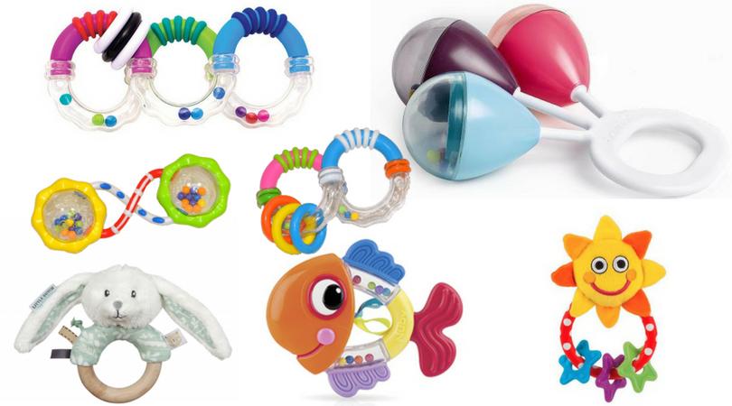 Jak vybrat neklepší hračky pro děti do jednoho roku