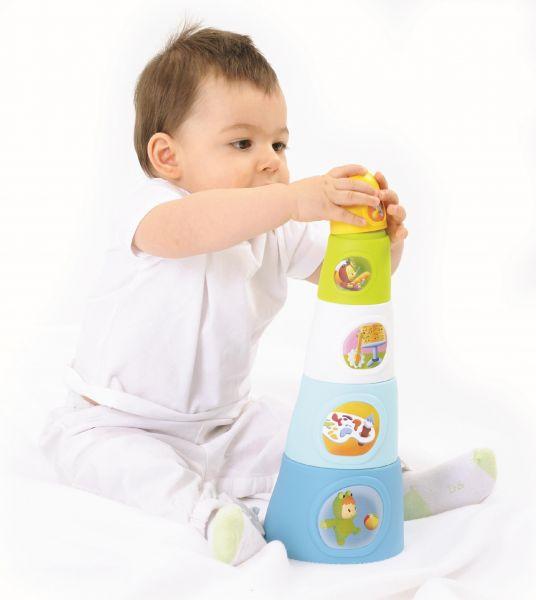 Skládaví kelímky nejlepší hračky pro děti do jednoho roku