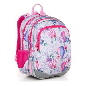 Dívčí školní taška pro prvňáka