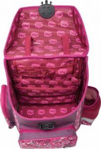 školní taška pro prvňáka vnitřní členění