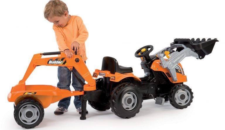 Recenze šlapací traktor pro děti Smoby Max
