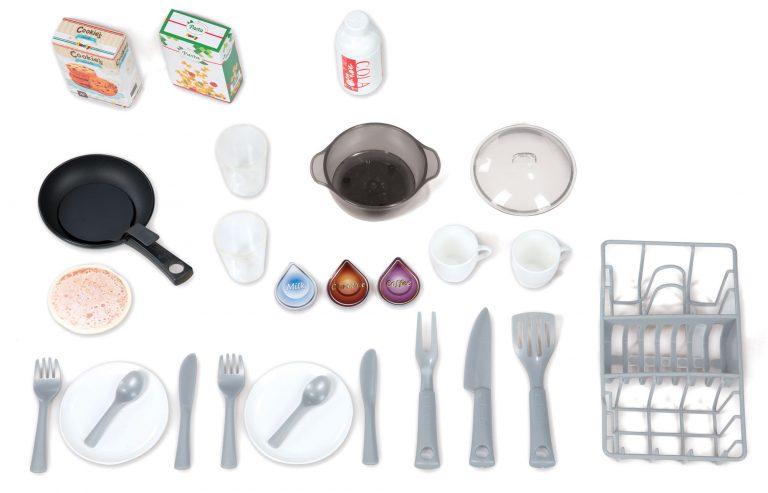 Smoby elektronická kuchyňka Tefal Studio Bubble s nádobím