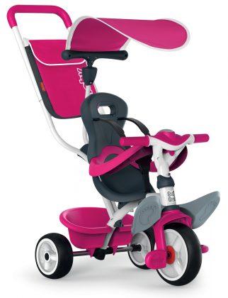 dětská tříkolka Smoby Baby Balade ružová