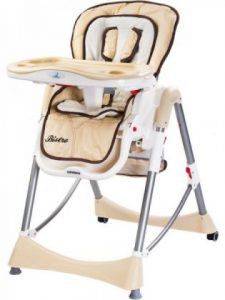 Caretero - Bistro dětská židle na krmení.
