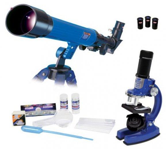 Mikroskop dárek pro kluky