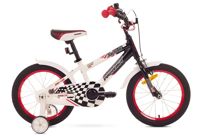 BMX  bycikl 16 pro děti od 4 let